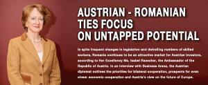 Austrian - Romanian ties focus  on untapped potential   1