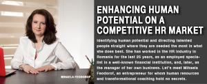 Enhancing human potential on a competitive HR market 1