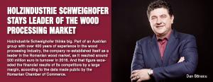 Holzindustrie Schweighofer stays leader of the wood processing market 1