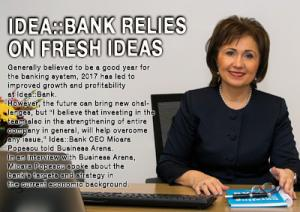 Idea::Bank relies on fresh ideas 1