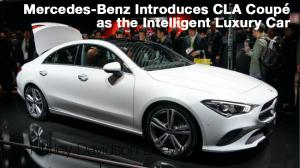 Mercedes-Benz Introduces CLA Coupé as the Intelligent Luxury Car 1