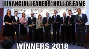 FINANCIAL LEADERS' HALL OF FAME 2018 1